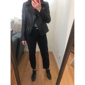 😍 Barney's Black Leather Jacket